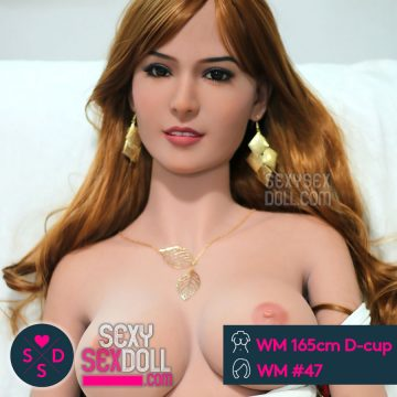 Best love doll – WM 165cm D-cup housewife Maja head 47