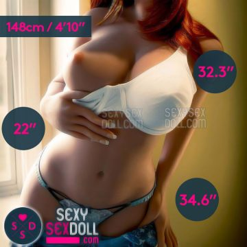 Your Love Slave Sex Doll 148cm 4ft10in D-Cup Body