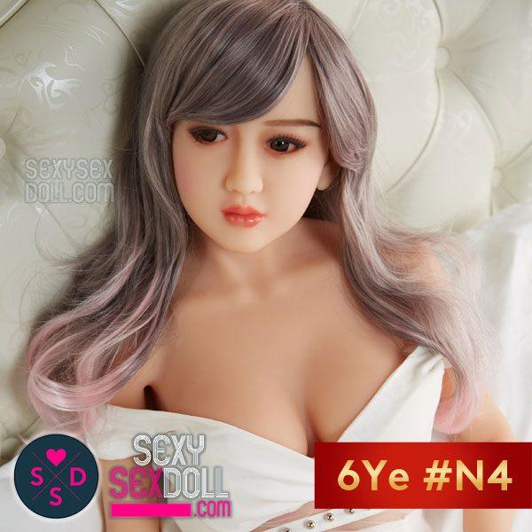 6Yeラブドールの頭部 #N4 悪い女の子-結子