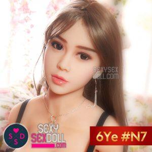 6Yeラブドールの頭部 #N7 羽奈子