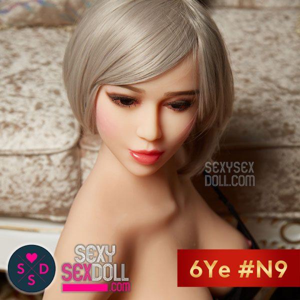 6Yeラブドールの頭部 #N9 絶対的美少女紀久香