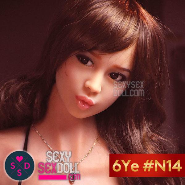 6Yeラブドールの頭部 #N14 美知香