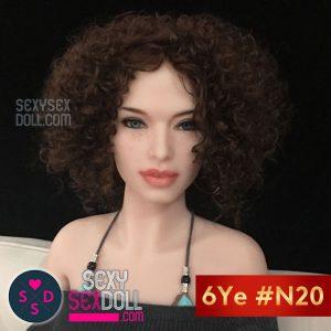 6Yeラブドールの頭部 #N20 グロリア
