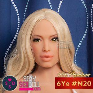 6Yeラブドールの頭部 #N20 アマンダ