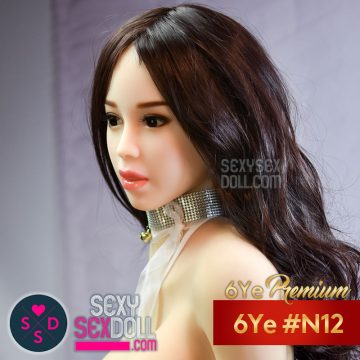 6Ye Asian Sex Doll Head #N12 - Hui Min