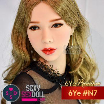 Porn-star Sex Doll Head - 6Ye #N7 Chloe