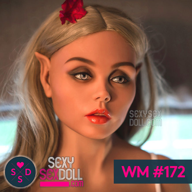 Elf Sex Doll Head WM #172 - Galadriel