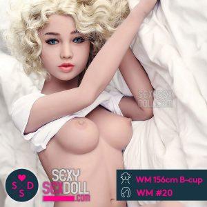 可憐な美少女ドール WM製156cm B-cup + WM ヘッド #20 佐恵子