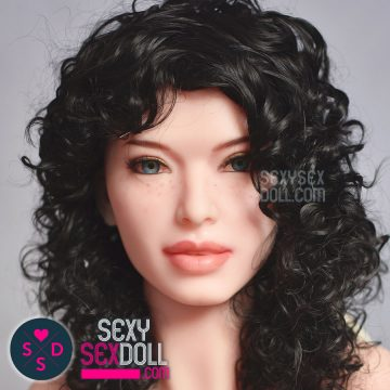 Black Curvy Wig for Sex Doll 6Ye Premium Sex Doll wig SexySexDoll