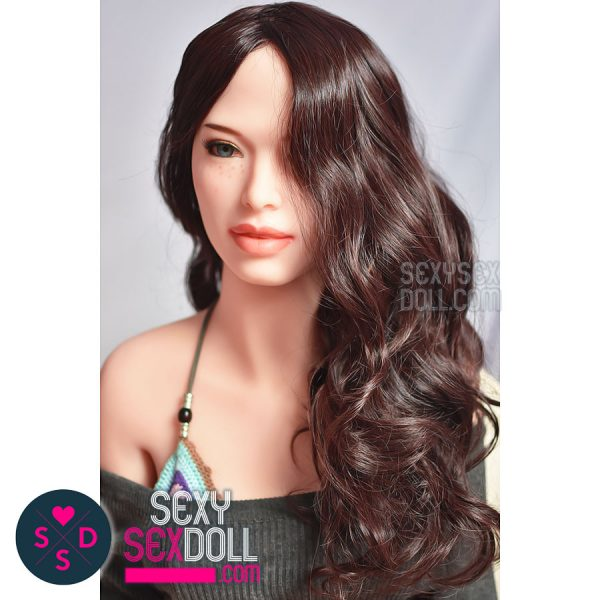Sex Doll Dark Curvy Wig 6Ye Premium Sex Doll wig SexySexDoll