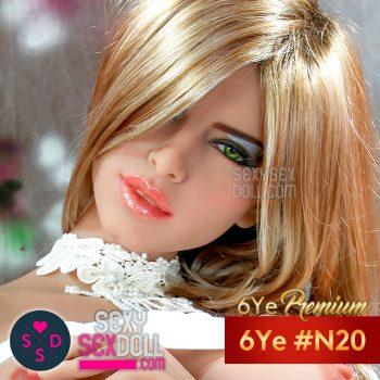 六野(6Ye) 頭 #N20 グロリア
