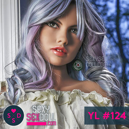 Pirate Sex Doll Head YL #124 - Cheyenne