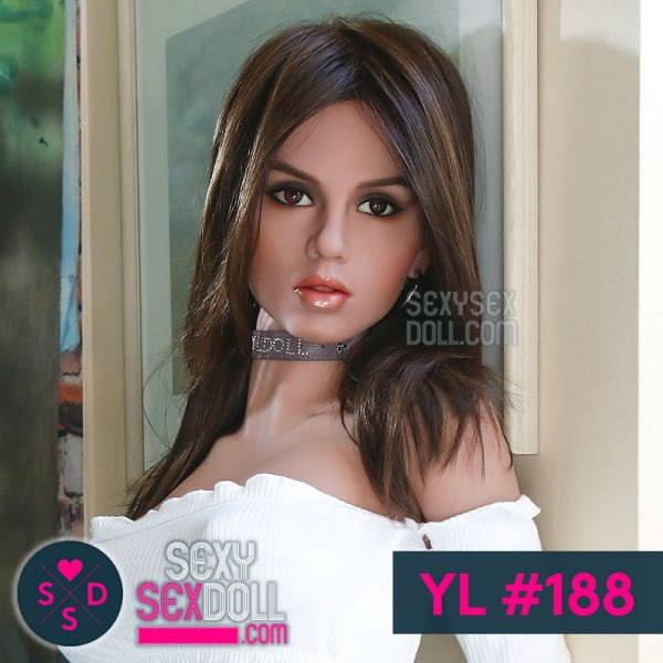 Super Model Sex Doll Head YL #188 Rinia