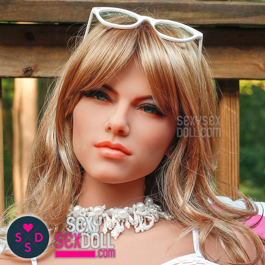 doll face - Porn-star Love Doll Head - 6Ye #N21 Martini