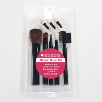 TPE Sex Doll Makeup Brush Set