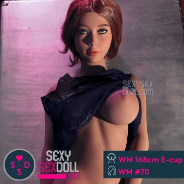 Asian Love Doll WM 168cm E-cup Cameron WM sex doll Head #70