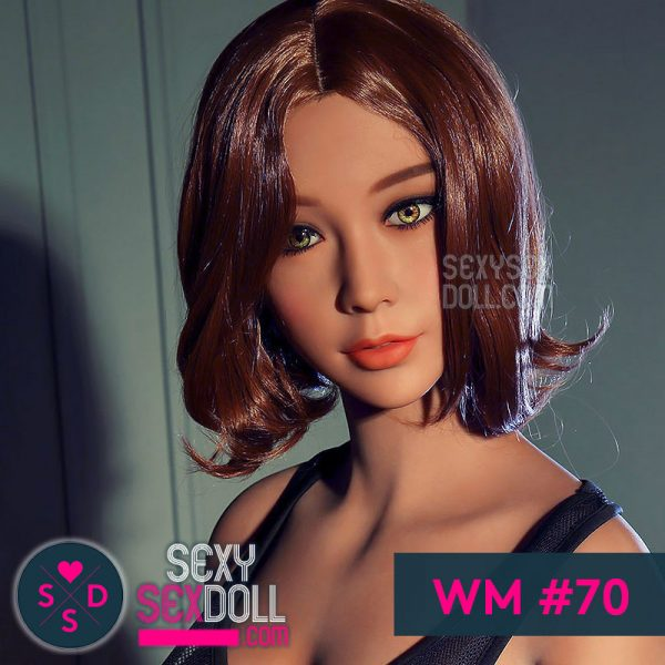 Asian Love Doll WM sex doll head #70 Cameron