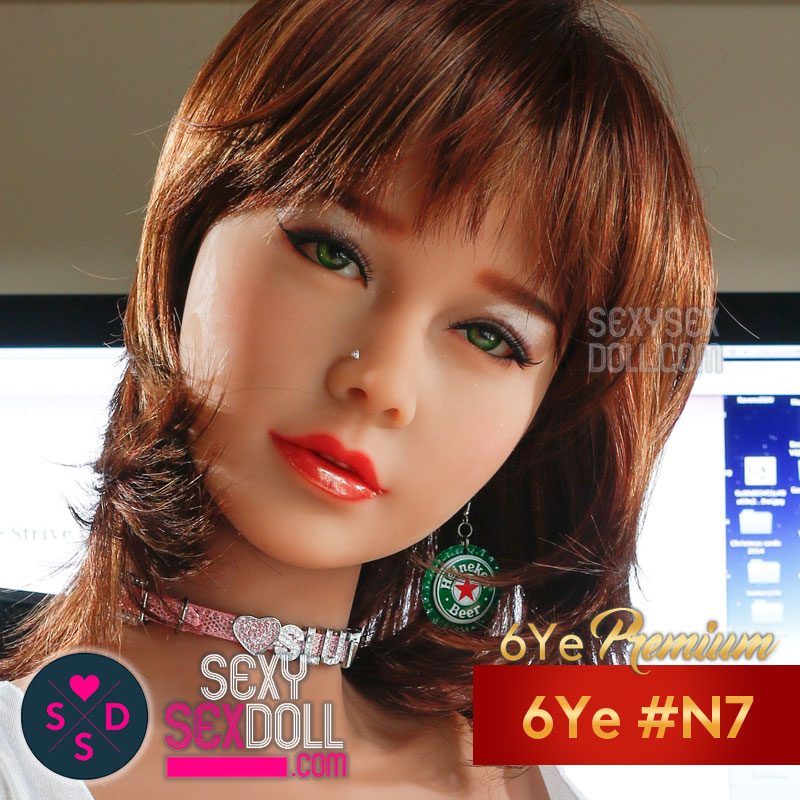 Beautiful Love Doll Head- 6Ye #N7 Chloe
