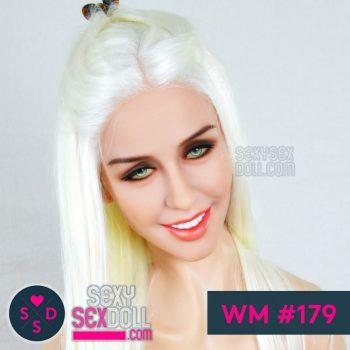 Lifelike Sex Doll Face WM #179