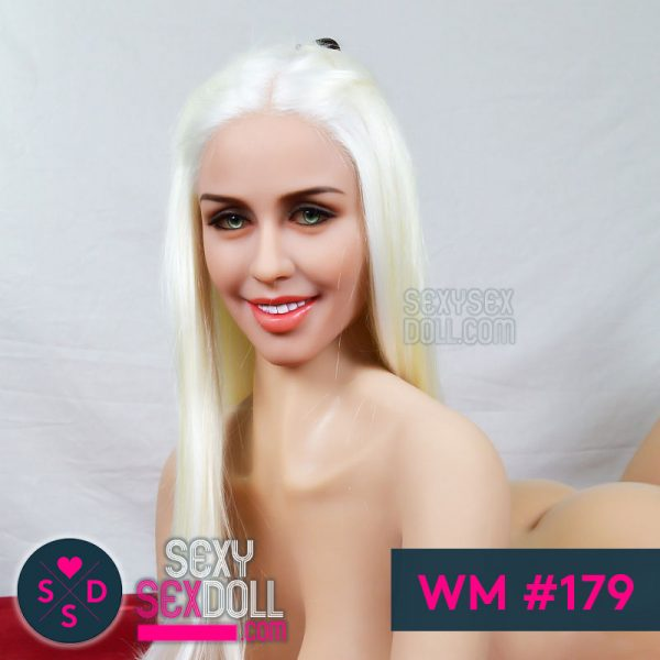 WM sex doll head #179