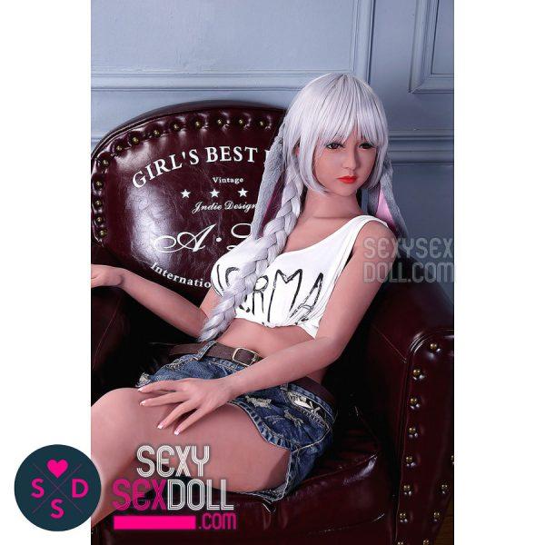 WM 158cm D-cup Cute Sex Doll Head #31