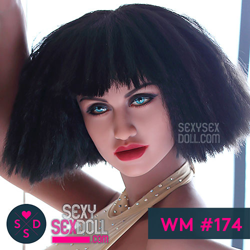 WM sex doll head 174