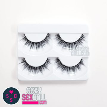 makeup eyelashes 2-pairs by sexysexdoll