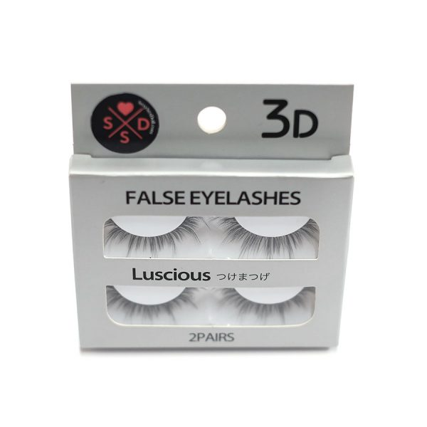 sex doll eyelashes 2-pairs by sexysexdoll