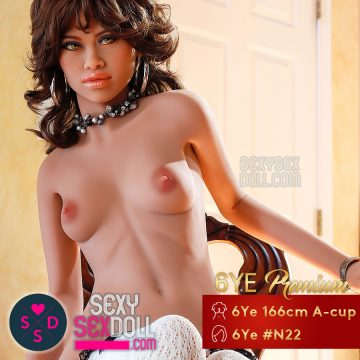 6Ye Doll Realistic Sex Dolls - 6Ye 166cm A-cup Love doll Face N22 Latrice