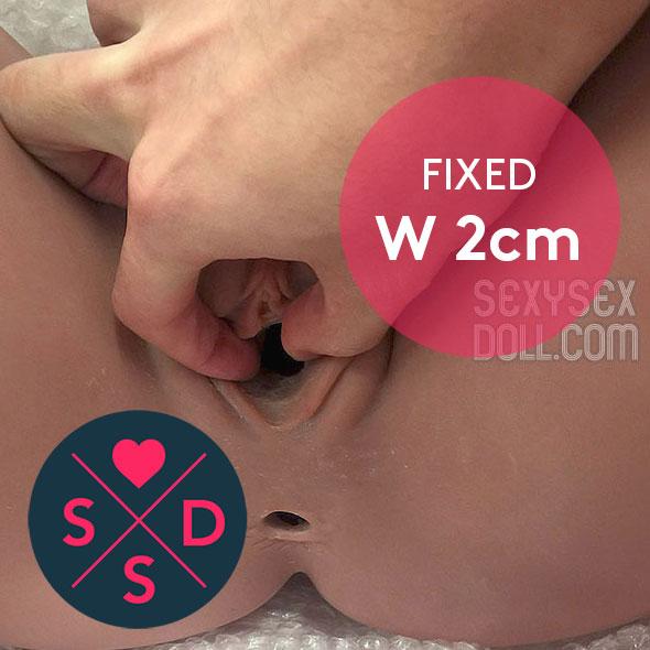 Fixed Vagina width 2cm
