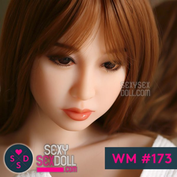Cute Japanese Sex Doll Head WM #173 Miwa