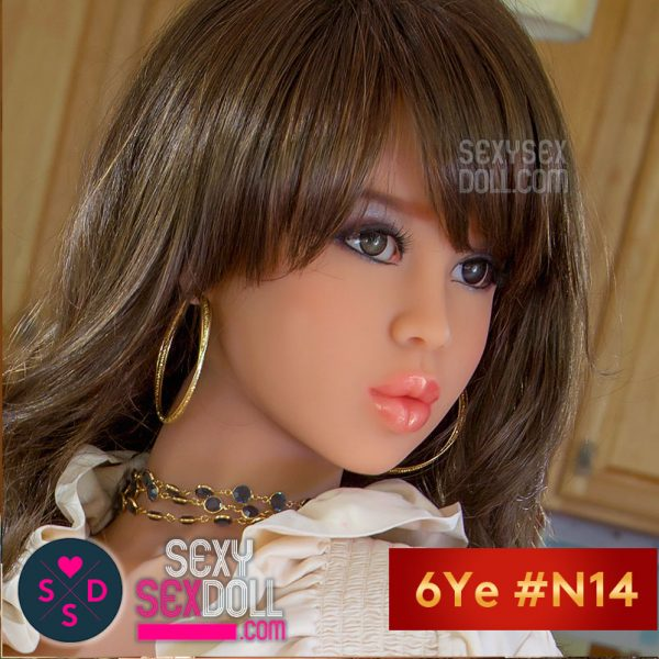 6Ye kissable sex doll head N14 Himari