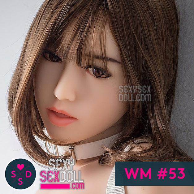 Japanese real doll WM sex doll head #53 Haruyo
