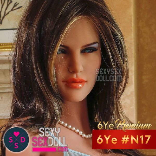 6Ye Premium Sex Doll Head #N17 - Slutty Britney