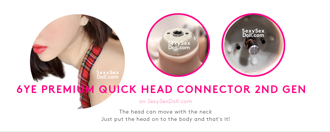 6ye doll premium quick head connector-2nd generation
