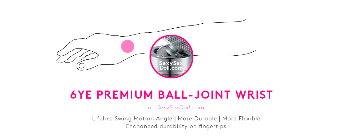 6ye doll premium ball-joint wrist