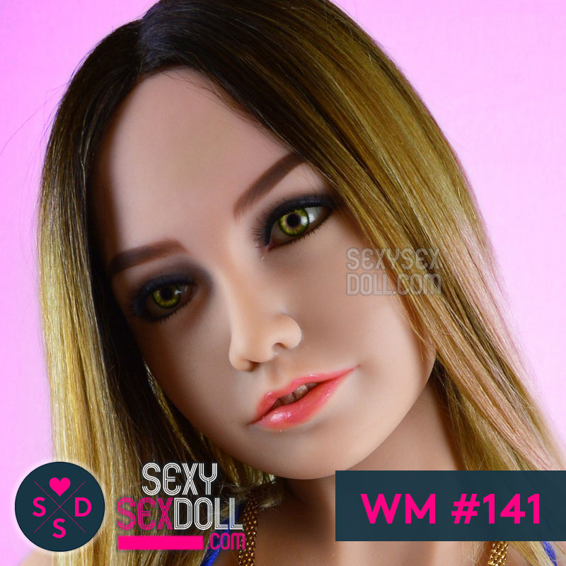 WM sex doll head 141