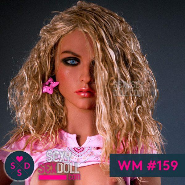 Hot Italian sex doll face WM 159 Giulia