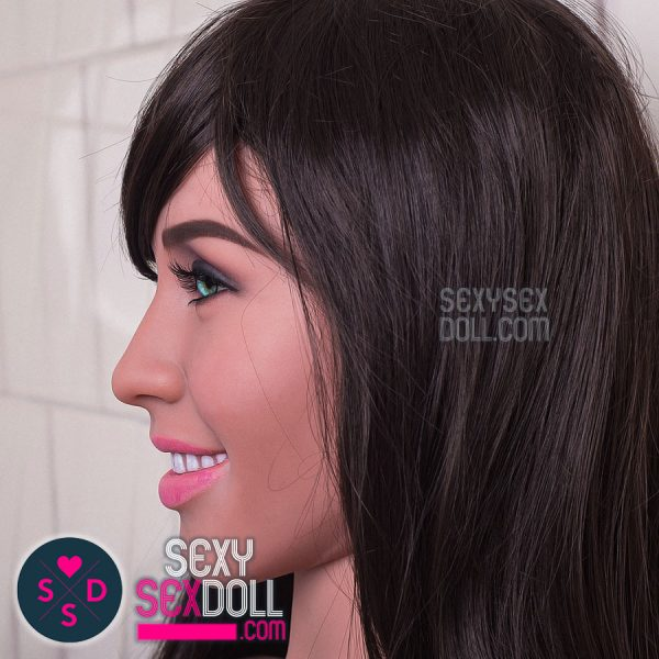 WM 160cm D-cup sex doll face 179