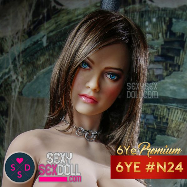 6Ye Premium French Girl Sex Doll Face #N24 Adèle