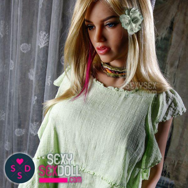 6Ye Premium 161cm E-cup Ultra realistic sex doll Head N27 Alexandra