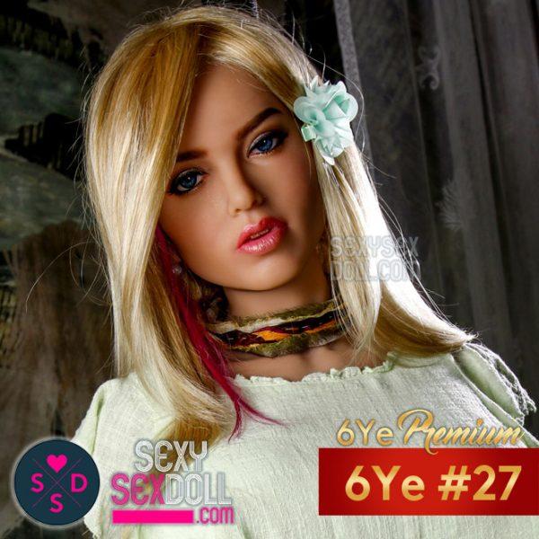 6Ye Premium Russian Sex Doll Face #N27 Alexandra