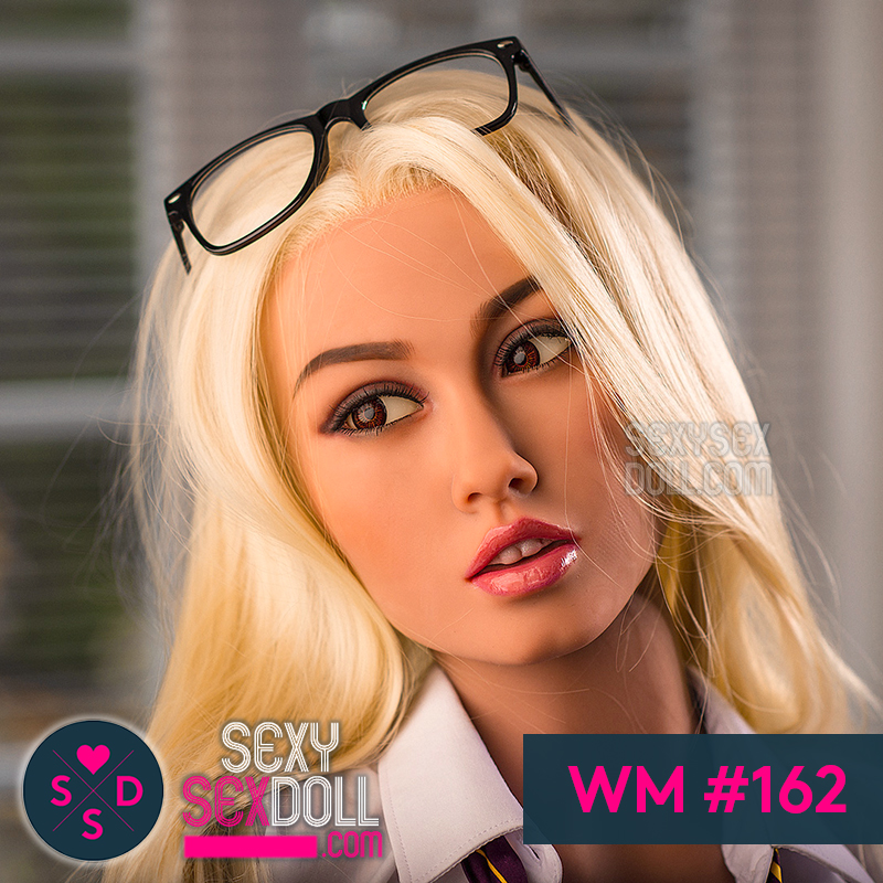 WM sex doll head #162