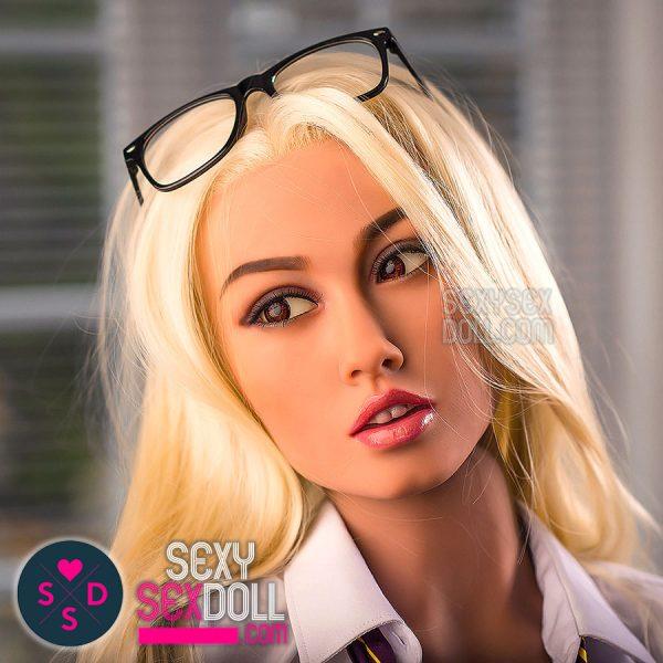 WM sex doll 157cm B-cup head 162