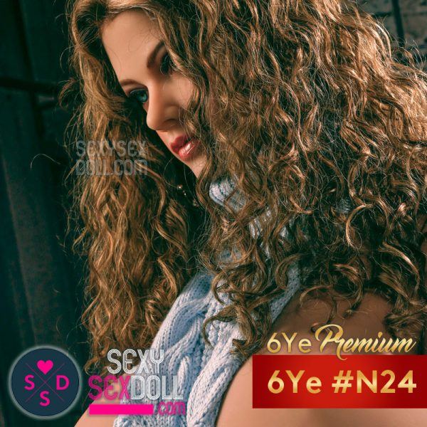 6Ye Premium Gorgeous Sex Doll Head N24 Adèle