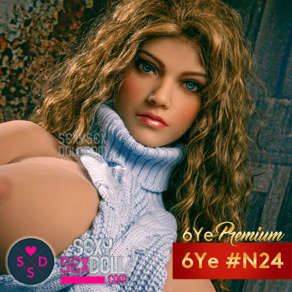 6Ye Premium Gorgeous Sex Doll Head N24 Adèle