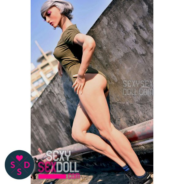 Athletic Sex Doll - 6Ye Premium 163cm B-cup Muscular Head N34 Maddelena