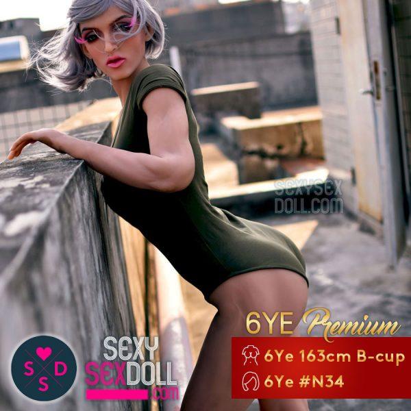Athletic Sex Doll - 6Ye Premium 163cm B-cup Muscular Head N34 Maddelena
