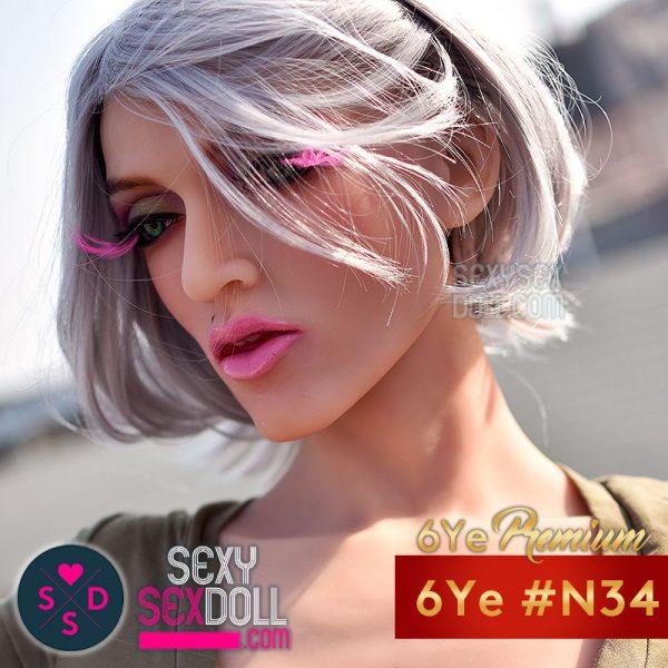 6Ye Premium Sex Doll Head #N34 Maddelena