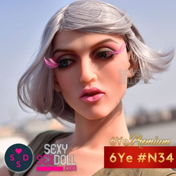 6Ye Premium Sex Doll Head #N34 Maddelena